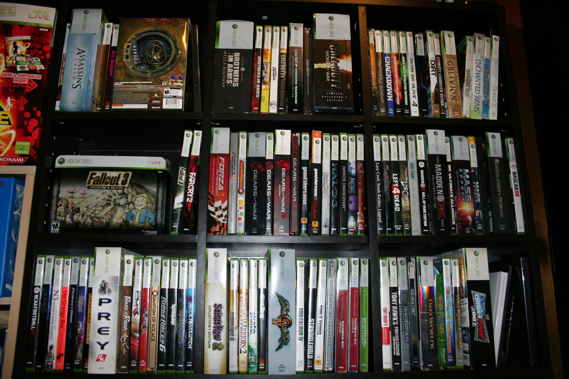 Xbox 360 Games Collection Xbox 360 Video Game Co...