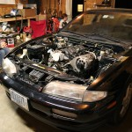 Twistedsymphony's S14 Corvette LS1 Daft Innovations Mount kit
