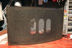 Bose 901 Series IV Restoration - Grill
