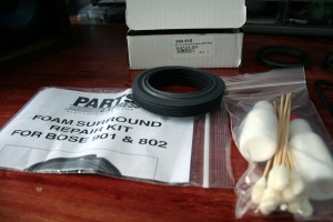 Bose 901 Series IV Speaker Restoration Parts Express Foam Surround Kit
