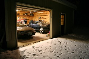 2 240sx in the Garage