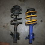 S14 240sx Nismo Front Suspension (dampers and springs)