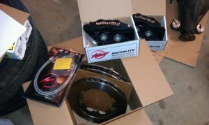 Wilwood super light big brake setup s14