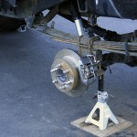 Custom Toyota Pickup Rear Disc Brakes (from a Mitsubishi Montero Sport)