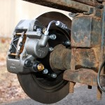 Custom Toyota Pickup Rear BrakCustom Toyota Pickup Rear Disc Brakes (from a Mitsubishi Montero Sport)es (from a Mitsubishi Montero Sport)