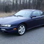 1997 Starfire Blue 240SX SE