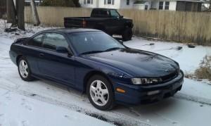 1997 240sx SE Starfire Blue